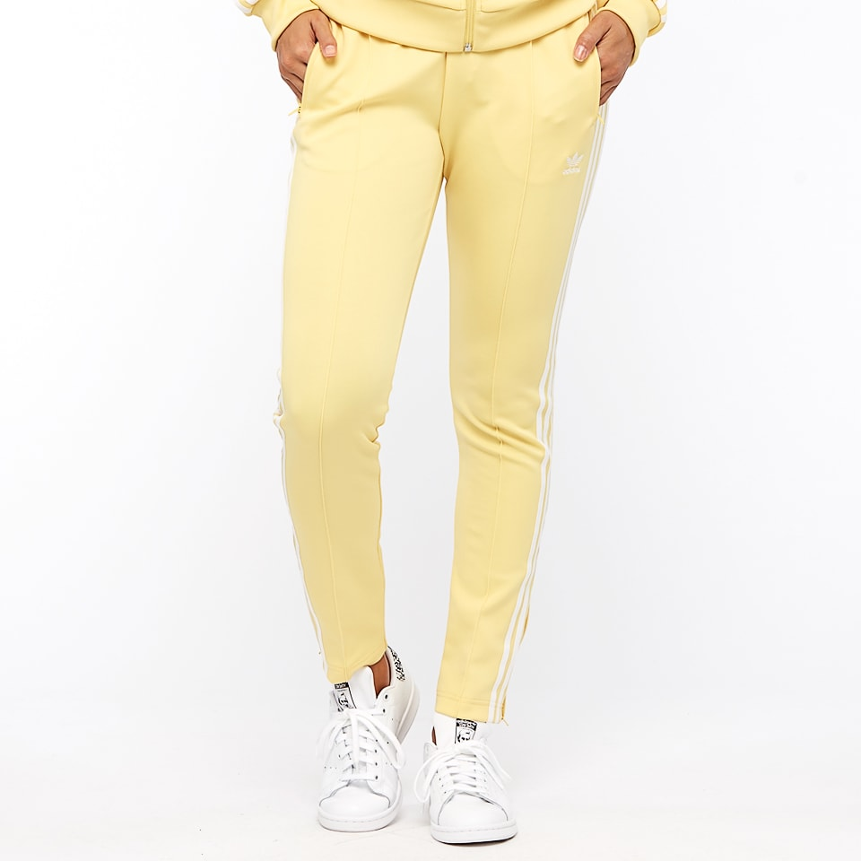Adidas Original Womens Superstar Track Pants CE2405 Yellow SST Track Pants