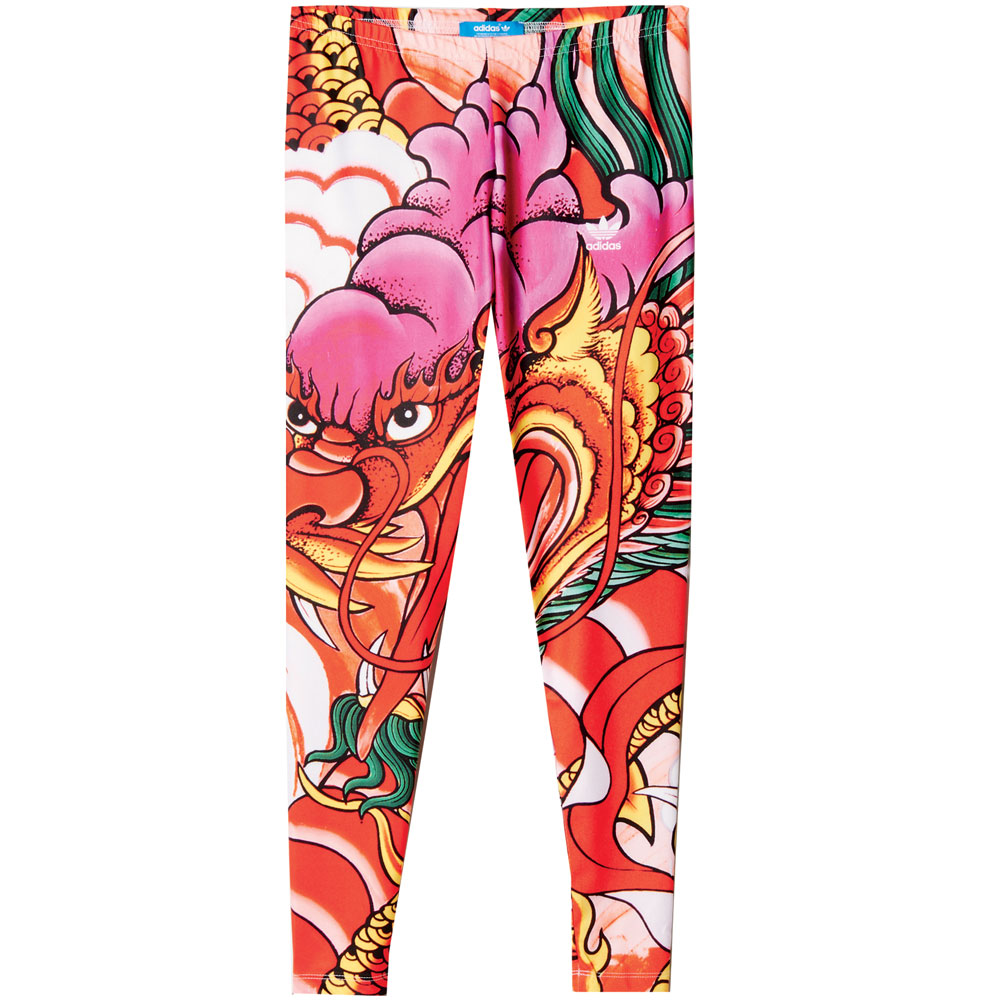 Adidas Originals Rita Ora Dragon Print Leggings A96217 Women Leggings