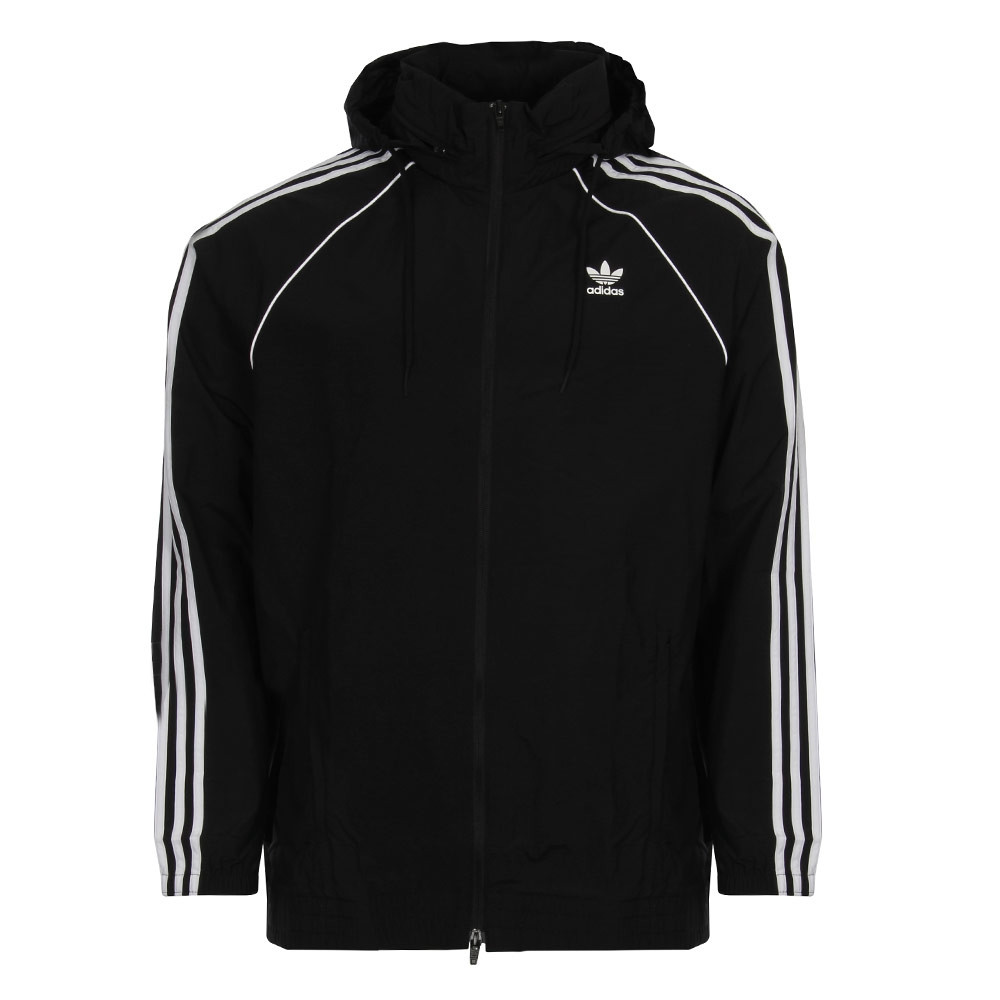 Adidas Original Superstar Windbreaker Black CW1309 Hoody/Jacket