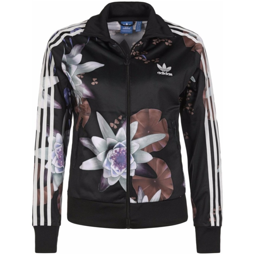 Adidas Lotus Print Track Jacket AC2130 Floral Superstar Jacket