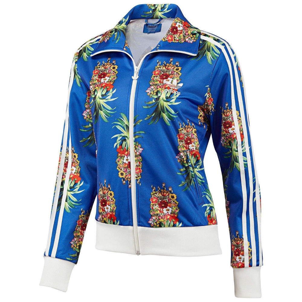 Adidas Originals Firebird Track Jacket Frutaflor Flower Brazilian Farm F78106 Jacket