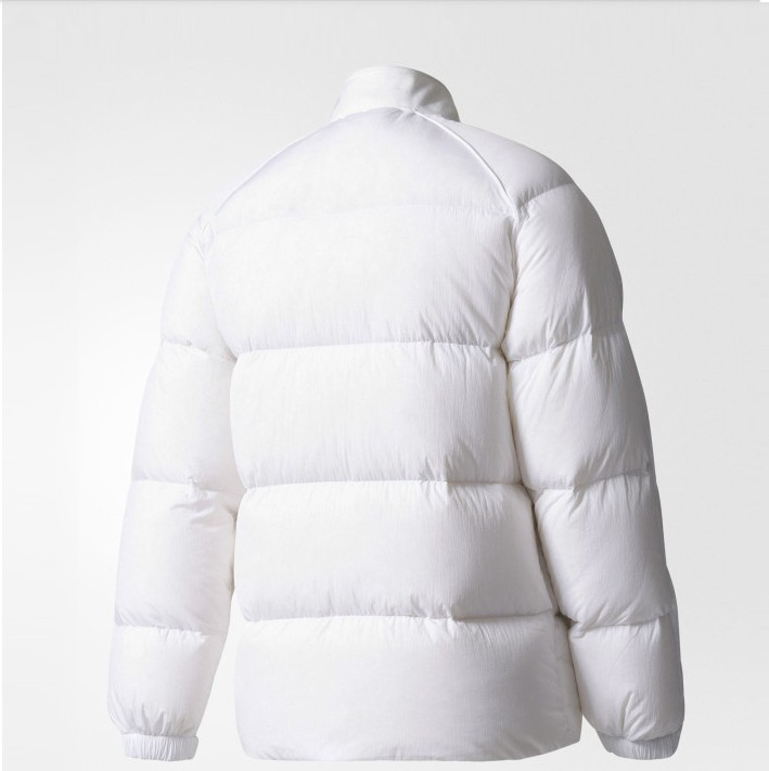 Original Adidas Superstar Womens Down Jacket BS4418 White Jackets Winter Down Coat