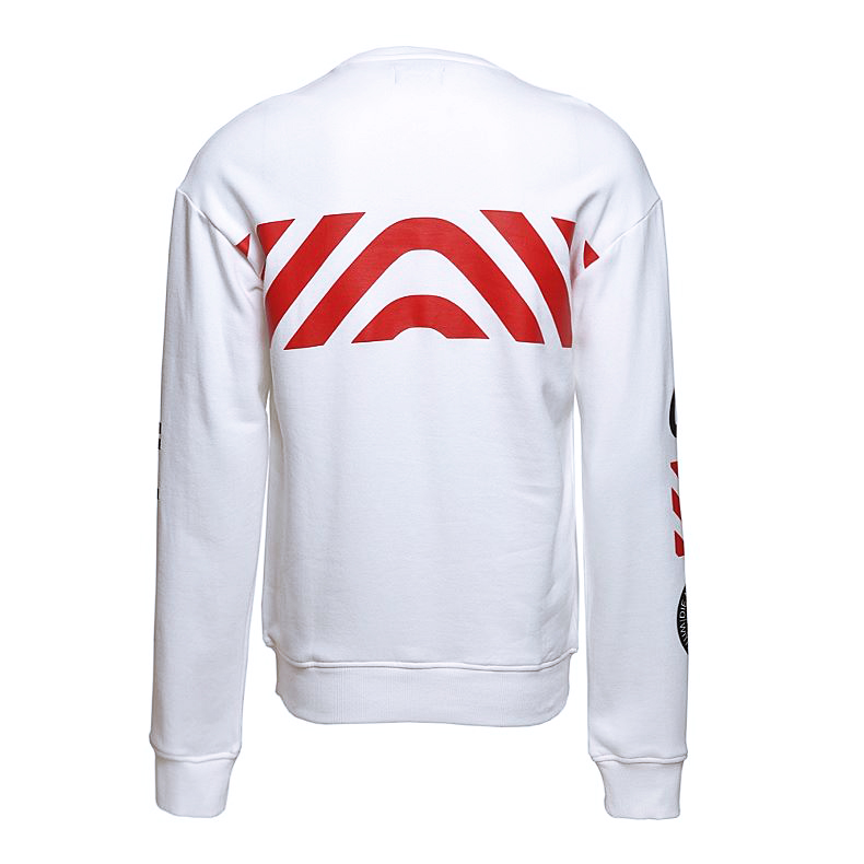 Adidas 2017 EQT White Mens Crew Sweater BQ0897 Top Tshirt