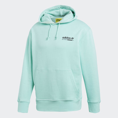 Original Adidas Mens Kaval Pullover OTH Hoody DH4948 Turquoise Hoodie