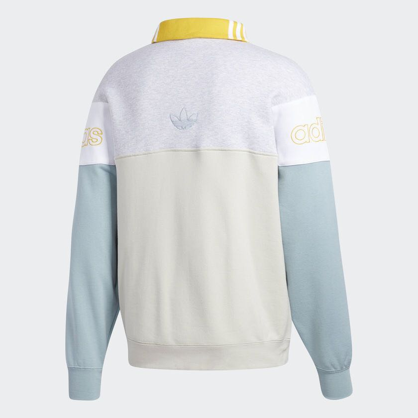 Adidas Rugby Sweater Collegiate DV3147 Raw White Rugby Sweatershirt