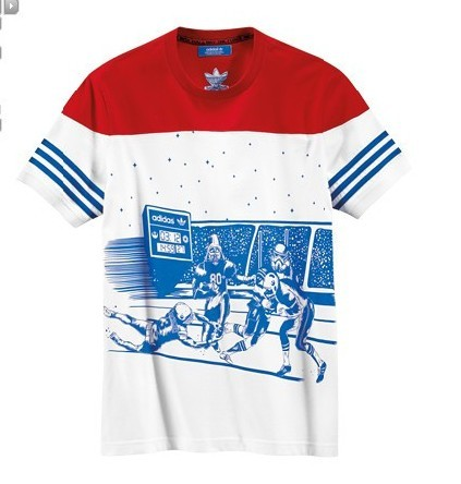 Original Adidas Mens Summer Tees Star Wars Tshirt SW Tees Star Wars 2