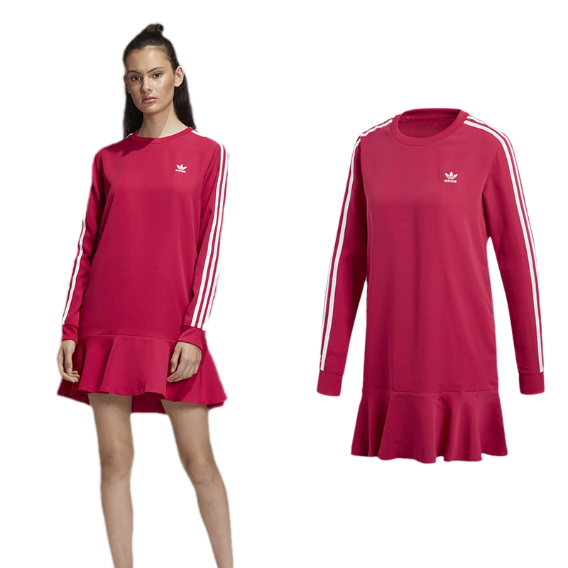 Original Adidas DV0856 Dress Pride Pink Women Dress