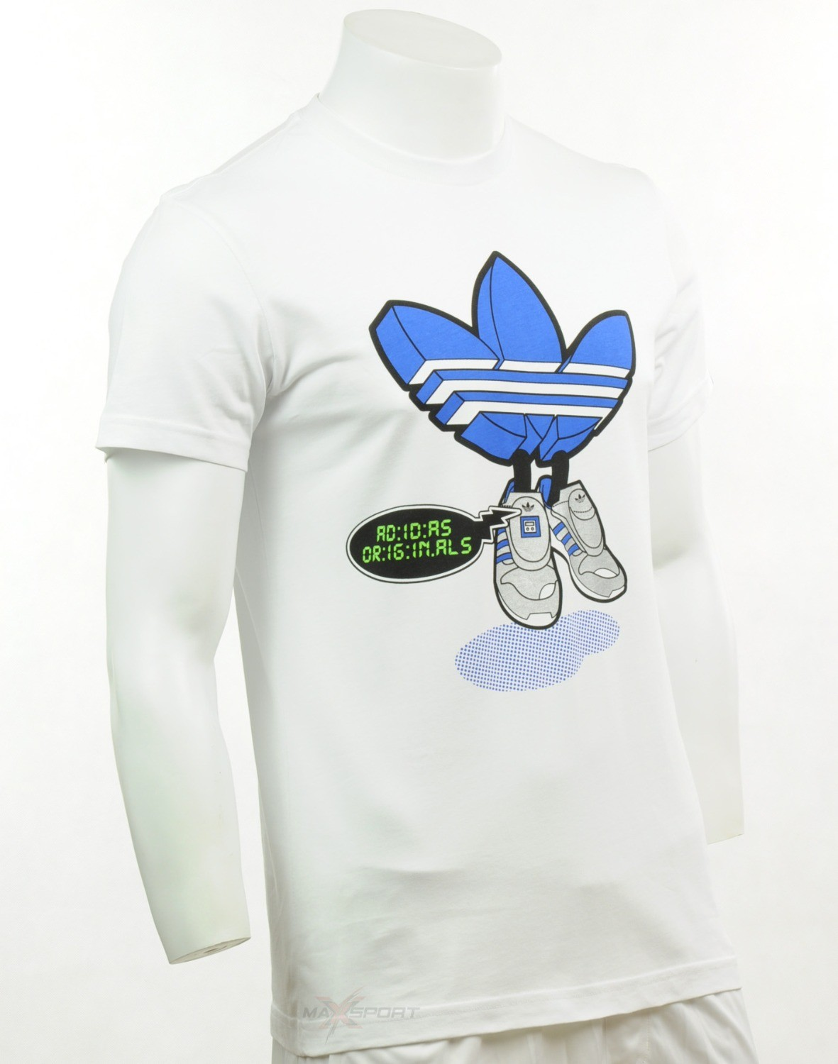 Adidas Originals Homber G Micropacer Tees Trefoil W67324 Summer Mens Tees