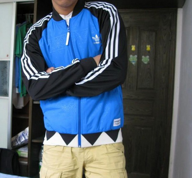 Adidas Superstar Shark P28162 Jacket Size S