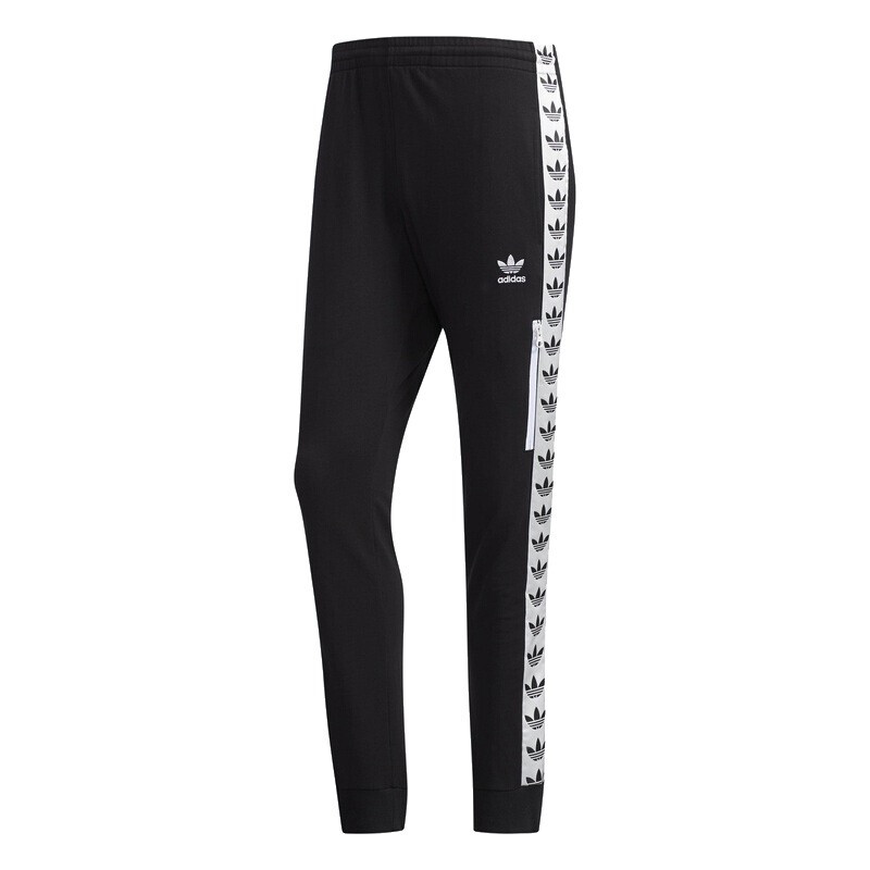 Adidas Original Light Pants Tre DX4234 Trefoil Black Joger Sport Pants