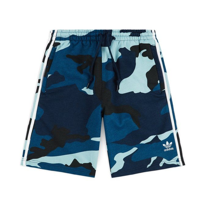 Adidas Camouflage Shorts DV2046 Blue Camo Summer Shorts