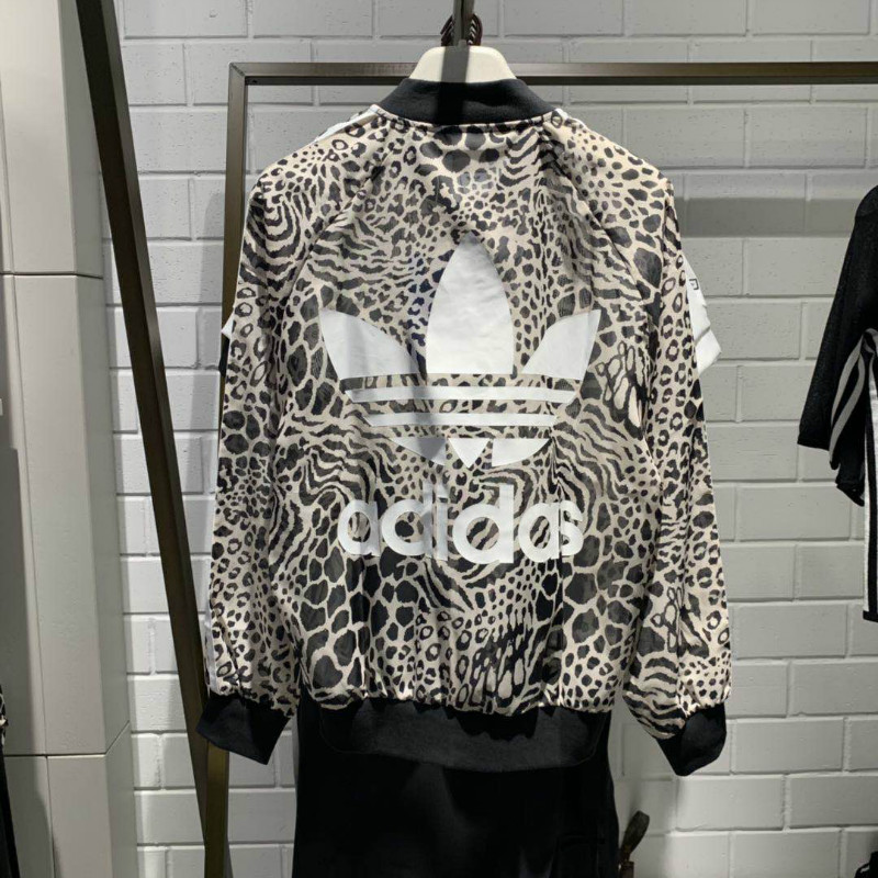 Original Adidas Womens DY0886 Sunscreen Jacket Jaguar Graphic Track Top Jacket