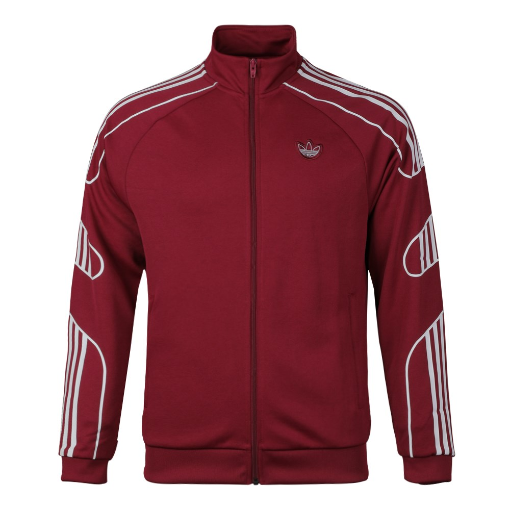 Adidas Fstrike Track Top Mens ED7212 Red Jacket