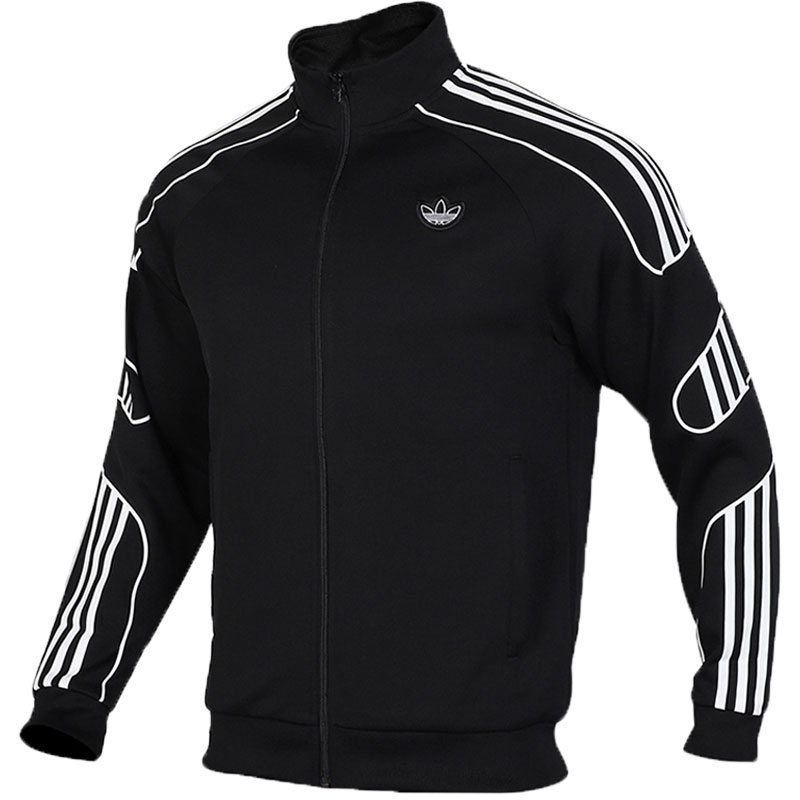 Adidas Fstrike Track Top Mens ED7209 Black Jacket