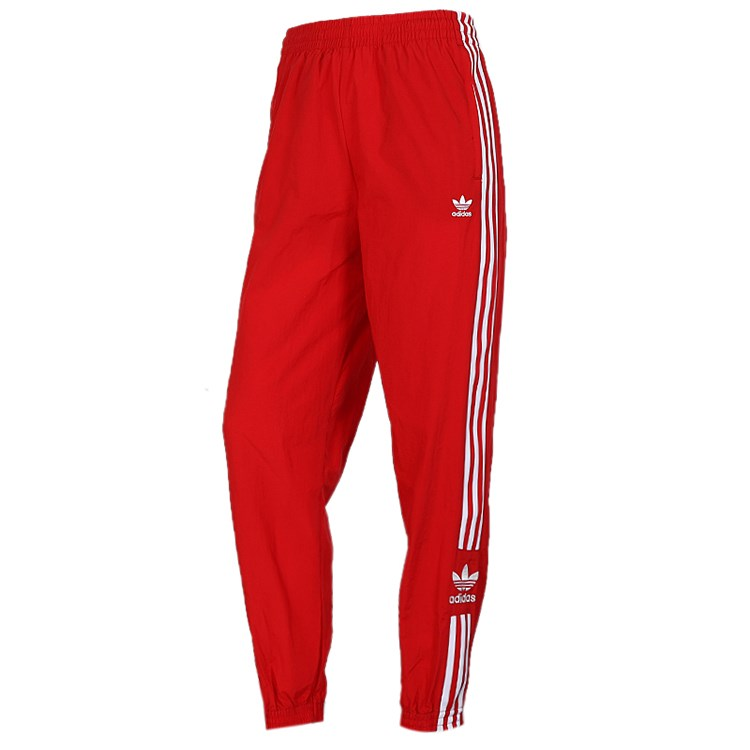 Adidas Womens Training Track Pants Lock Up ED7543 Jogger Red Sport Pants