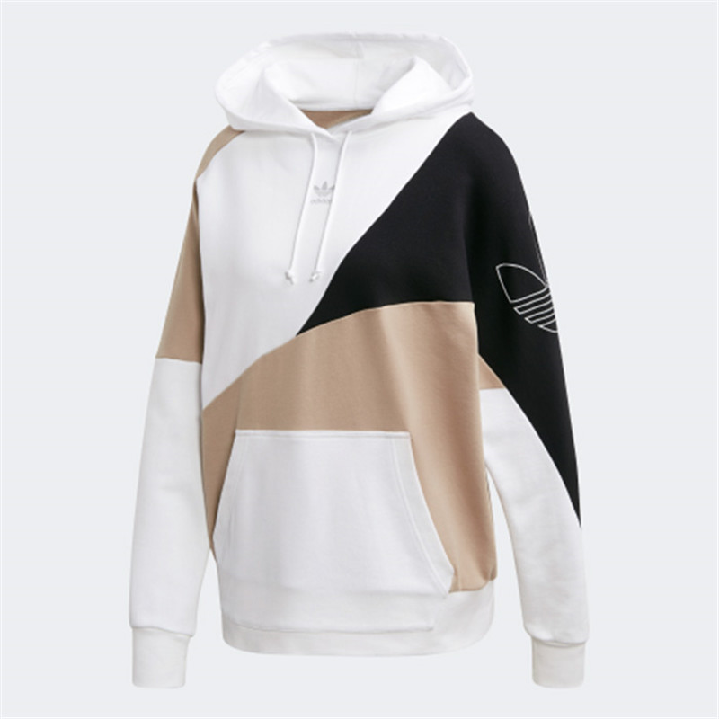 Adidas Originals Womens Colorblock Hoodie FR0558 Brown Foot Locker Hoody