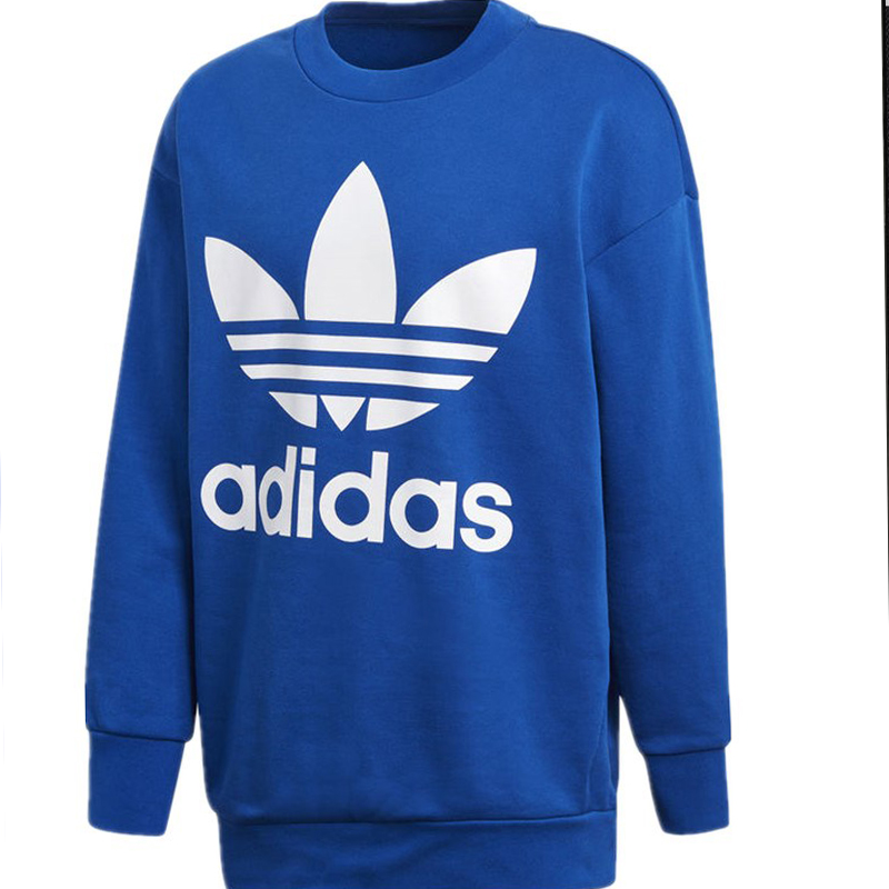Adidas Original Trefoil Hoodie CW1238 Big Trainer Mens Crew Sweatershirt