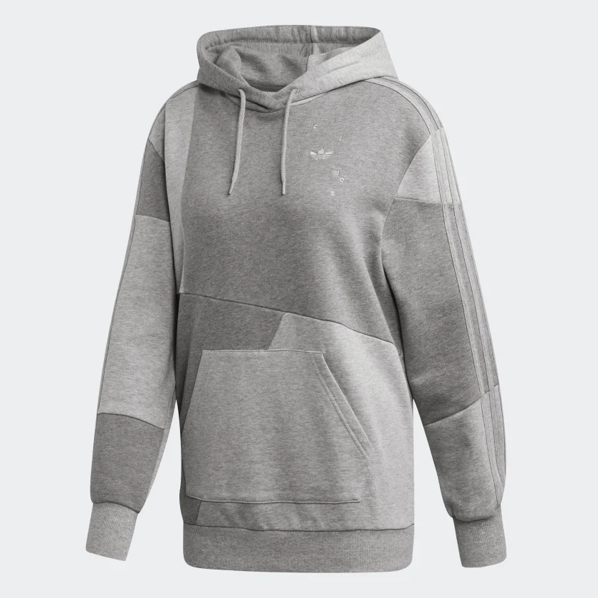 Adidas Original Daniëlle Cathari Hoodie Grey FN2764 Hoody Full Set With Jogging Pants FN2768 Sport Suits