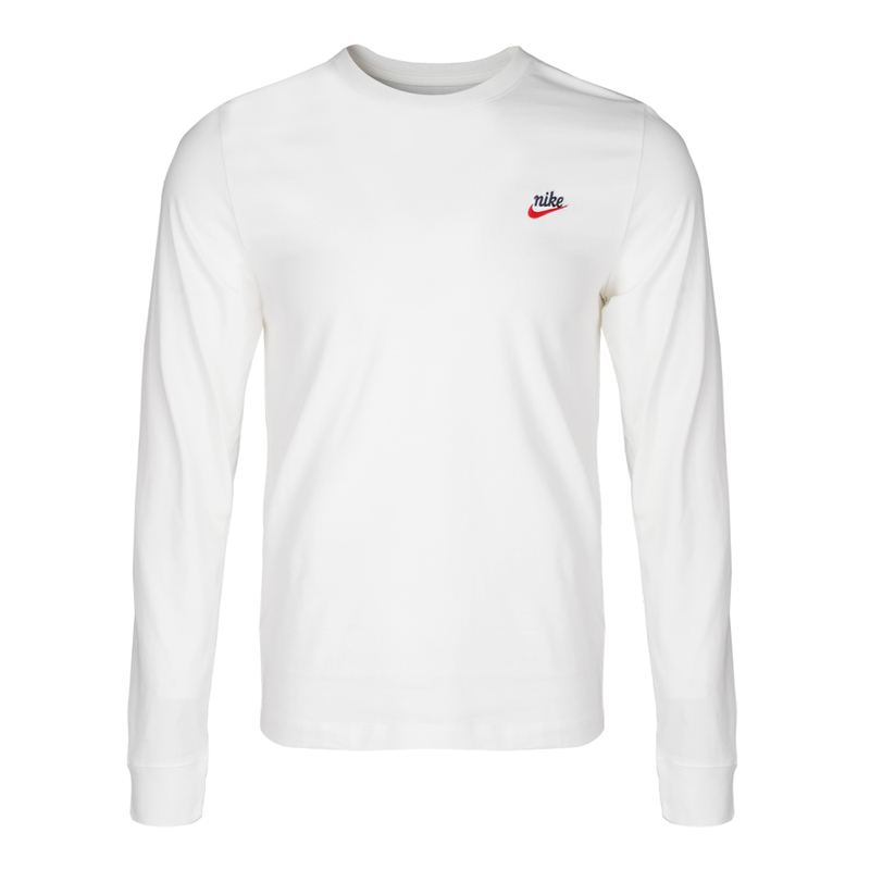 Nike Sweater Long Sleeve BJ8439 White/Black Tees