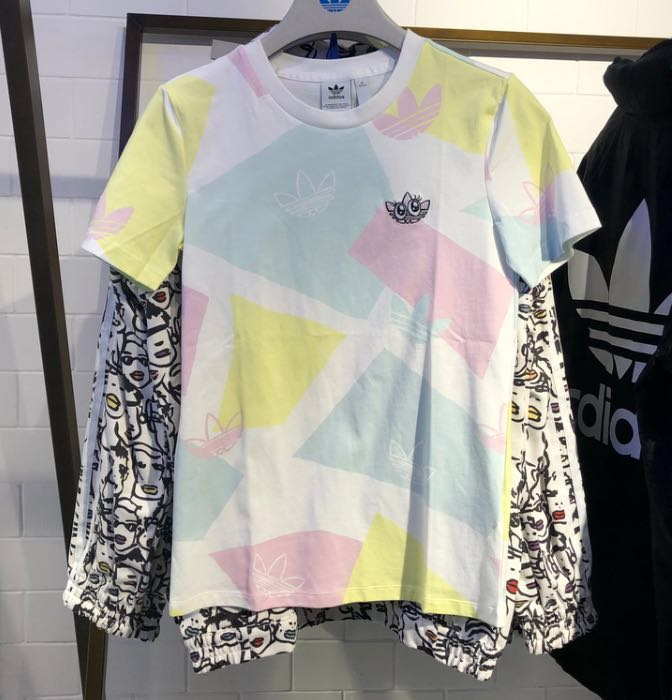 Adidas Originals Graphic Tees GK3674 Logo Tees C