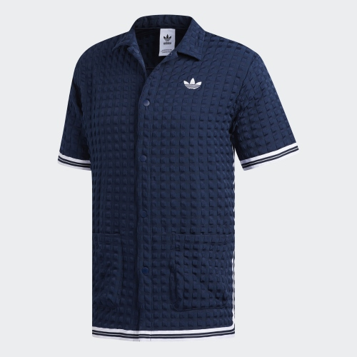 Original Adidas Banyan Shooting Shirt DV3105 White Short Shirt Summer Tshirt DV3106 Navy  2 Colors C