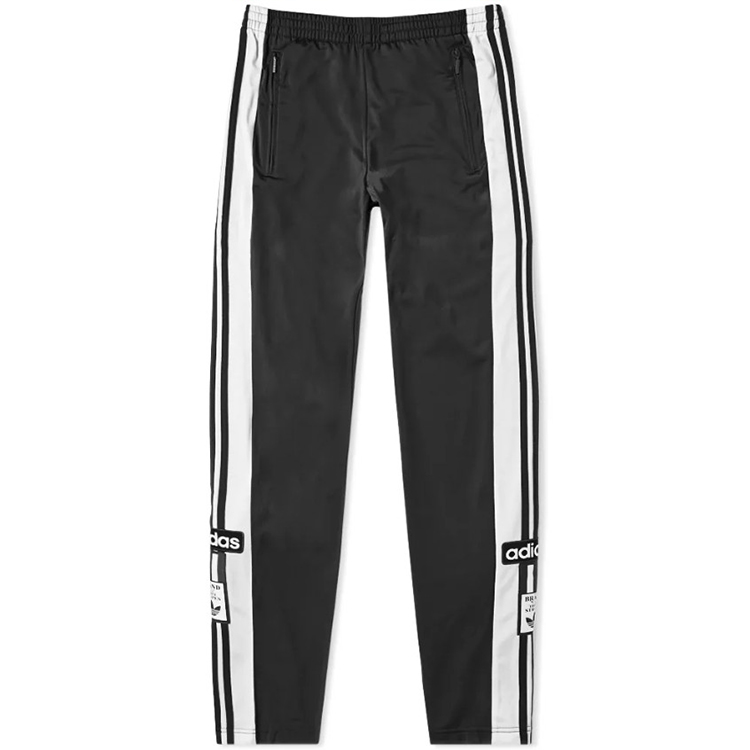 Adidas Adibreak Track Pants Mens Snap Track DV1592 Blue Pants DV1593 Black Pants