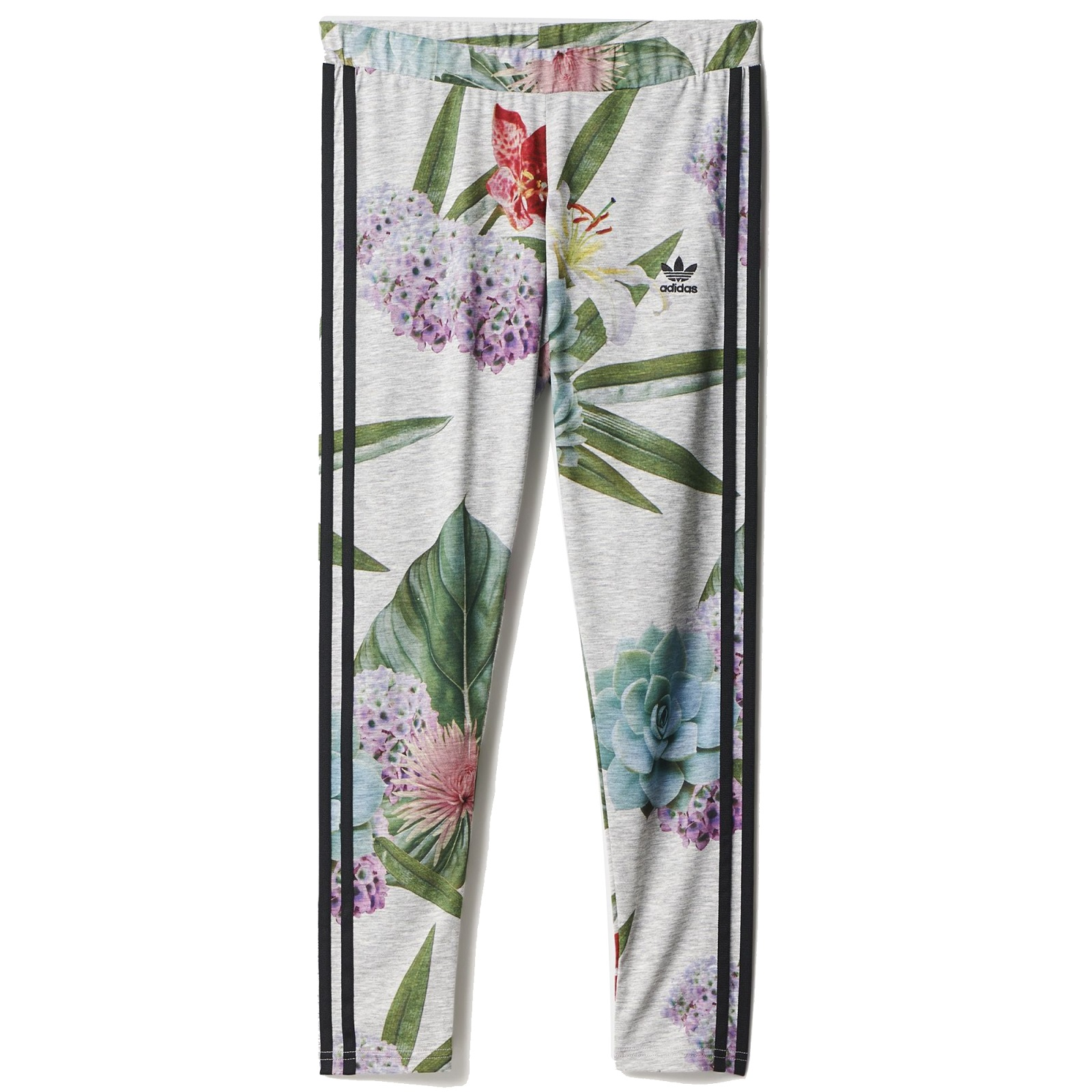 Adidas Womens Originals Training Leggings Multicolor AJ8879 Floral Print Leggging