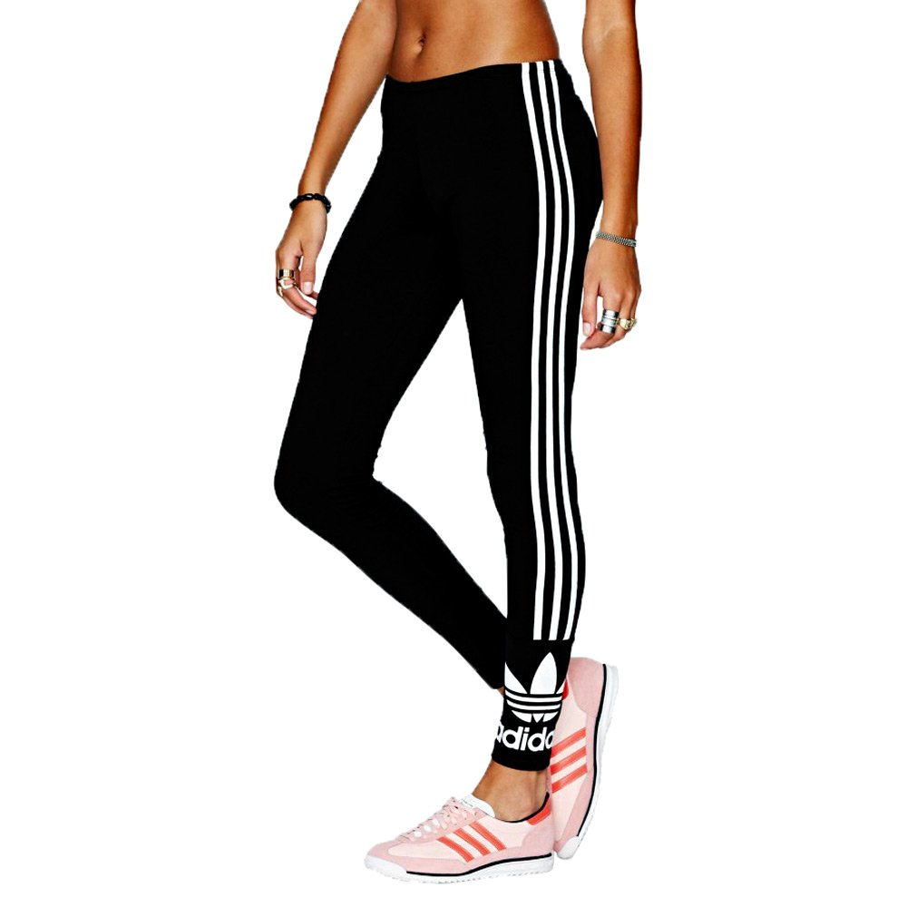 Adidas Womens Trefoil Legging F78409 Black Leggings